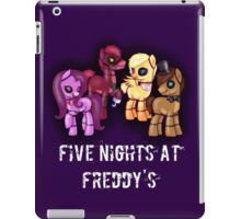 My little pony Five Nights at Freddy's iPad Case/Skin