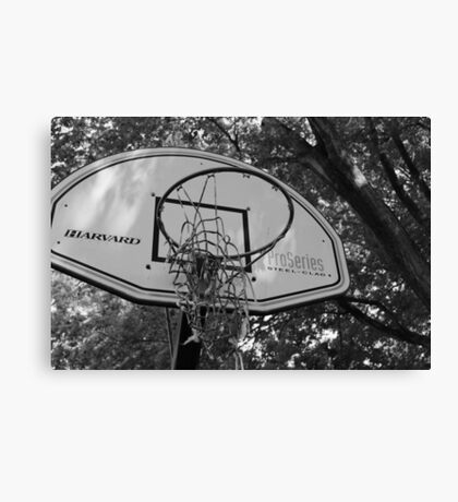 Old Hoops Canvas Print