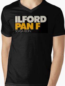 Ilford PanF Mens V-Neck T-Shirt