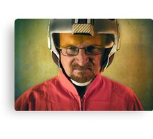 Say My Red Squadron Designation Canvas Print