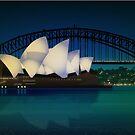 Sydney Harbor by Lara Allport