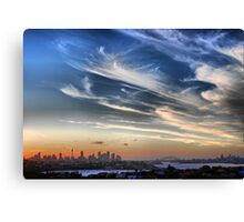 Sydney Harbour from Dover Heights Canvas Print