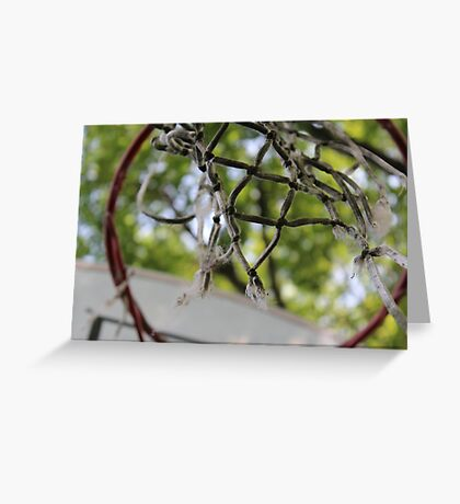 Old Hoops Greeting Card