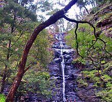 Silverband Falls by Keilah
