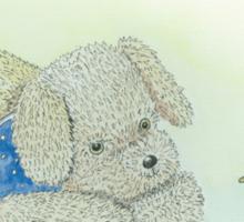 Rosie Dog playtime Sticker