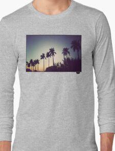 florida palms Long Sleeve T-Shirt