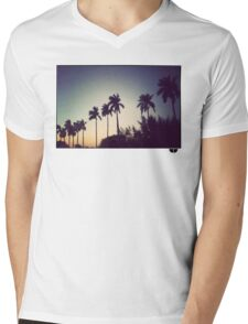 florida palms Mens V-Neck T-Shirt