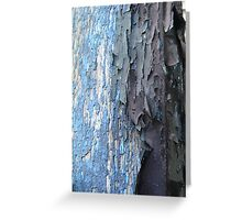 Vertical Blues Greeting Card