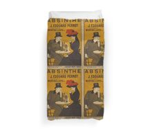'Absinthe' by Leonetto Cappiello (Reproduction) Duvet Cover