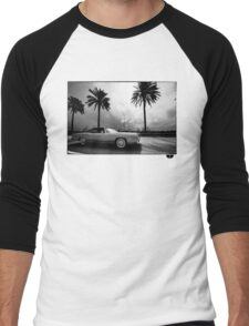 palm tree Men's Baseball ¾ T-Shirt