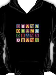 Barack Obama Raibow Blocks T-Shirt