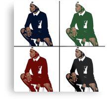 A$AP Rocky - Cartoon Metal Print