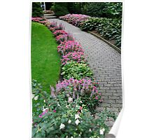 Flower Foot Path - 13630 Poster
