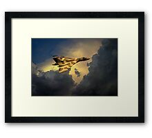Golden Vulcan  Framed Print
