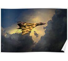 Golden Vulcan  Poster