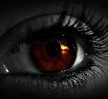Eye sunset numero dos by Melissa  Carroll
