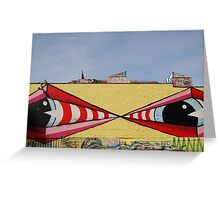 Graffiti 006 Greeting Card