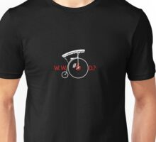What Would Number Six Do? (dark) Unisex T-Shirt