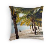 Musket Cove Fiji Throw Pillow