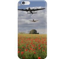 Over The Poppy Fields  iPhone Case/Skin