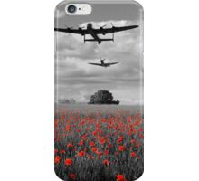 Over The Fields - Selective  iPhone Case/Skin