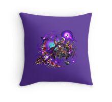 Inferno Goddess Elza Throw Pillow