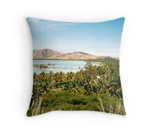 View of Musket Cove Throw Pillow