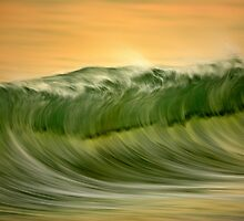 Green Wave by David Orias