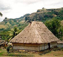 Fiji:Native Bure by Cheryl Parkes
