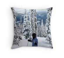 Perfect Snow! Throw Pillow