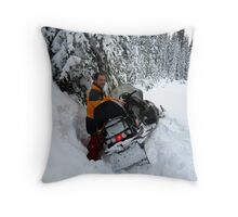 Stacked It! Throw Pillow