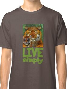 Live Simply Tiger Classic T-Shirt