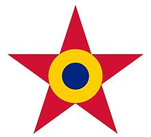 Roundel of the Romanian Air Force, 1947-1985 by abbeyz71