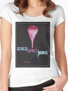 The 1975 Girls Artwork Women's Fitted Scoop T-Shirt