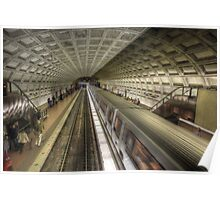 Smithsonian Metro Station Poster