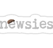 Newsies w/ Cap Sticker