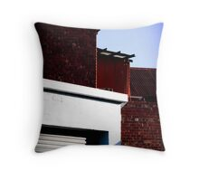 Inner city living #2 Throw Pillow