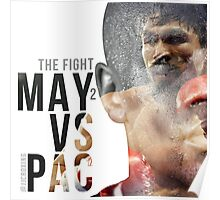 """Boxing - Mayweather vs Pacquiao """"The Fight"""" Poster"""
