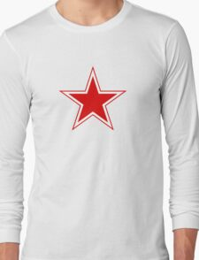 Roundel of the Soviet Air Forces, 1945-1991 Long Sleeve T-Shirt
