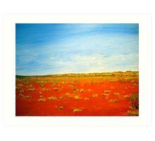 AUSTRALIA THE ART Art Print