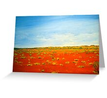 AUSTRALIA THE ART Greeting Card