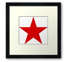 Roundel of the Soviet Air Forces, 1918-1945 Framed Print