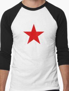 Roundel of the Soviet Air Forces, 1918-1945 Men's Baseball ¾ T-Shirt