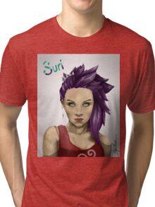 Suri portrait Tri-blend T-Shirt
