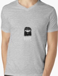 If at first you don't succeed BORIS will be profoundly displeased Mens V-Neck T-Shirt