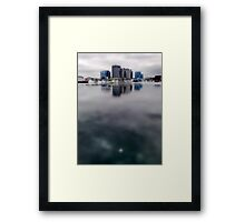 water city Framed Print