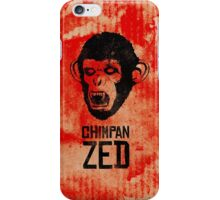 Chimpan ZED iPhone Case/Skin