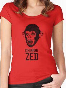 Chimpan ZED Women's Fitted Scoop T-Shirt