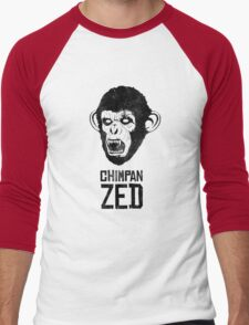 Chimpan ZED Men's Baseball ¾ T-Shirt
