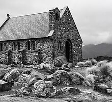 Church of the Good Shepherd, Lake Tekapo by Heike Richter